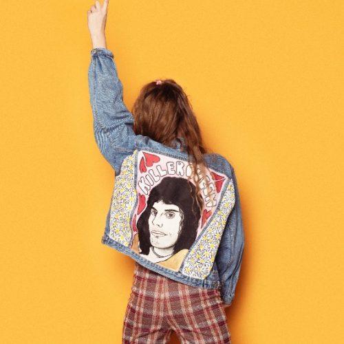 LIMITED EDITION Denim Jacket Freddie Mercury ll