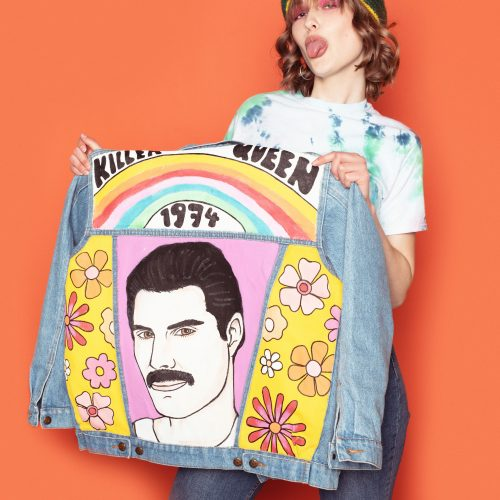 LIMITED EDITION Denim Jacket Freddie Mercury