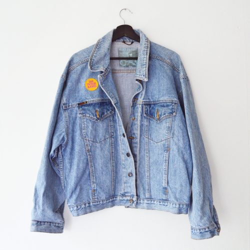 LIMITED EDITION Denim Jacket Cosmic Bowie