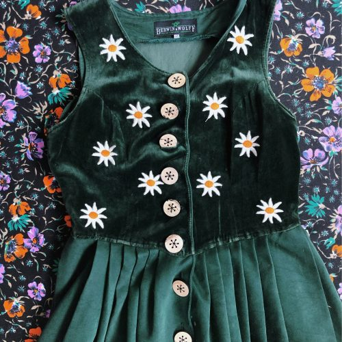 Berwin & Wolff Green Dress
