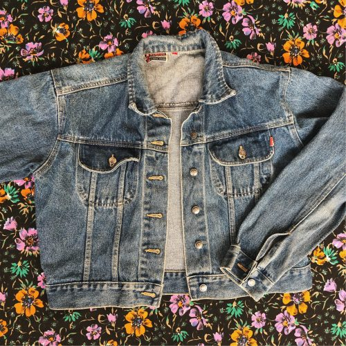 Handpainted Denim Jacket George Michael