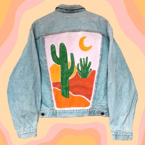 Denim Jacket Day in the Desert
