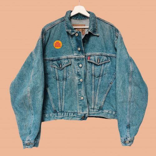 Denim Jacket The Butterfly Dream